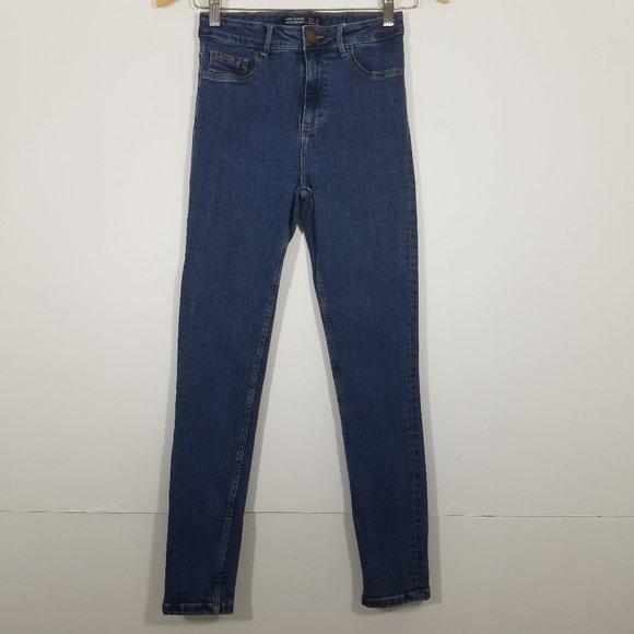 Zara Super Skinny High Rise Stretch Jeans Size 4